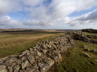 Northumberland, Hadrians Wall, March 2015